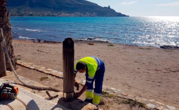 30.000 euros para la reparación de La Azohía