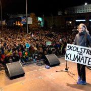 Greta Thunberg se une a los manifestantes climáticos en Madrid