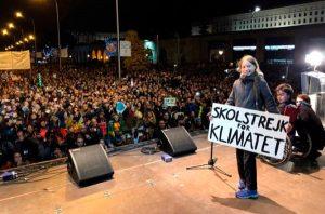 Greta Thunberg en Madrid
