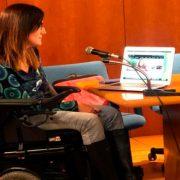 Mujer valenciana rechazó permiso para abordar el vuelo de Ryanair en silla de ruedas eléctrica