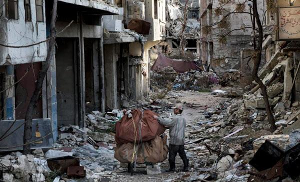 refugiados de la guerra de Siria