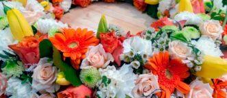 coronas funerarias