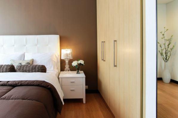 espacio en el dormitorio